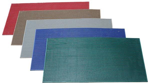 цветные дражные ковры резиновые
