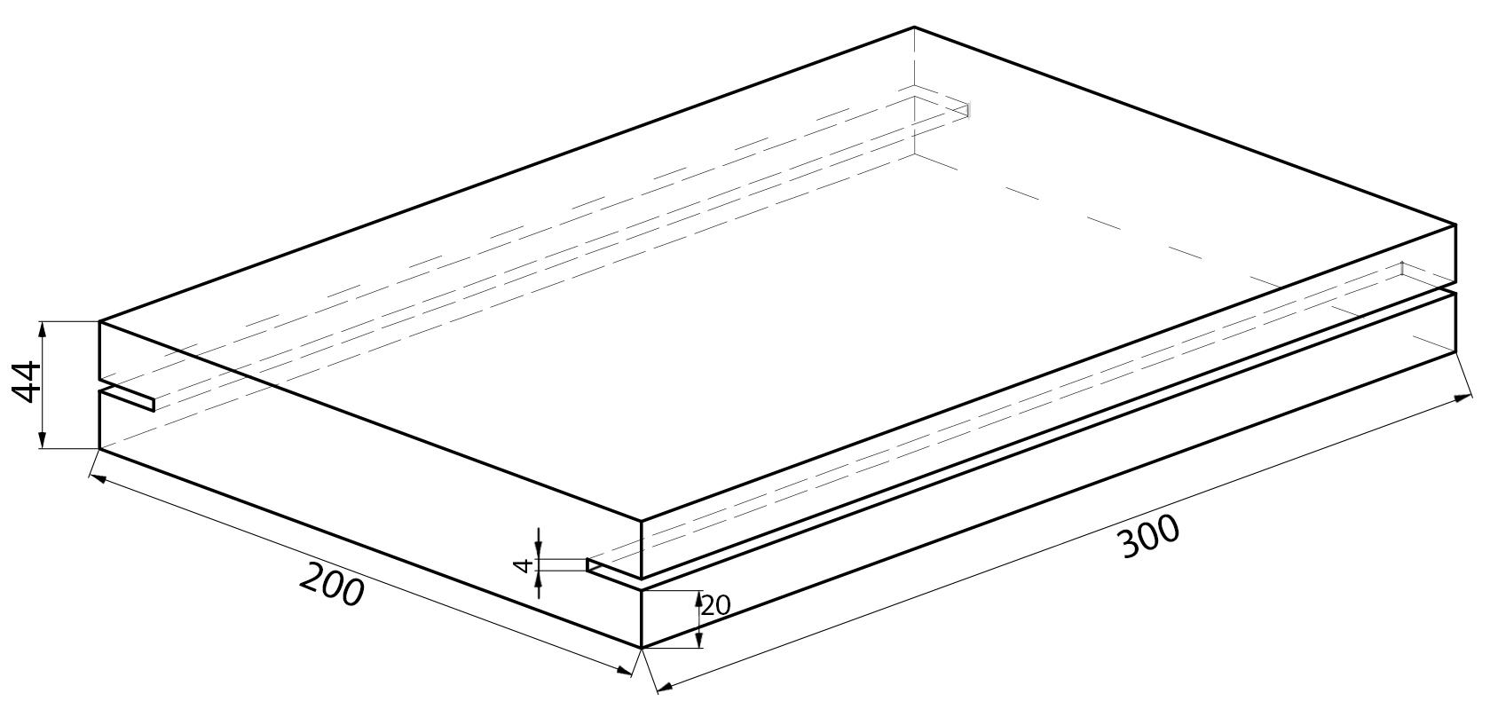 чертеж футеровочной резиновой плиты на скруббер бутару