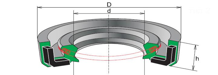 Манжета АРМ 2.2-90*120 для КСД-1200