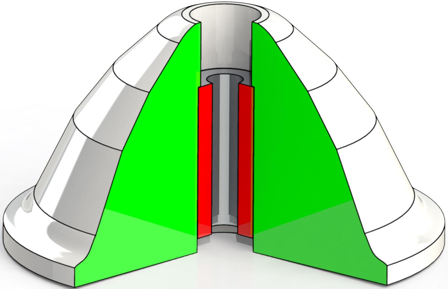 Пробки резиновые для флотомашин