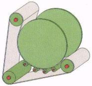 схема перфорированной ленты