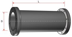 Резинотканевый трубопровод (пульпопровод)