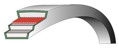 Приводной клиновый ремень С(В)-5600