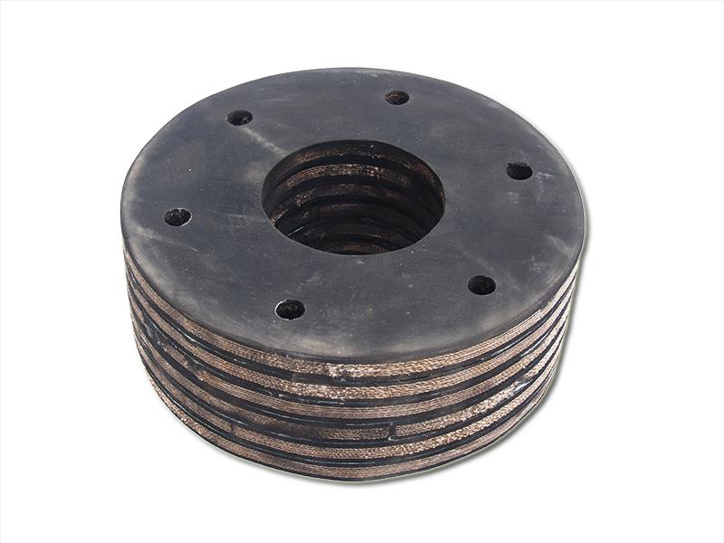 Резиновый шкив привода желоночной лебедки буровой установки БУ-20