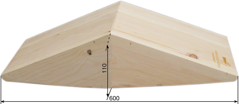 лоток деревянный вид сбоку