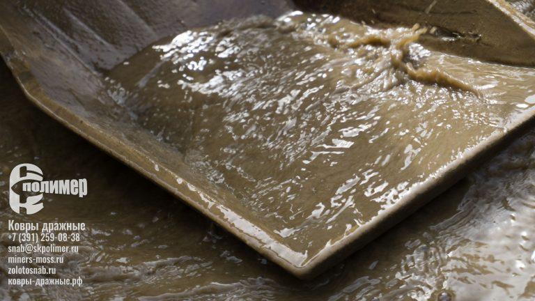 Промывка золота на лотках сибкрасполимер на старательском фарте
