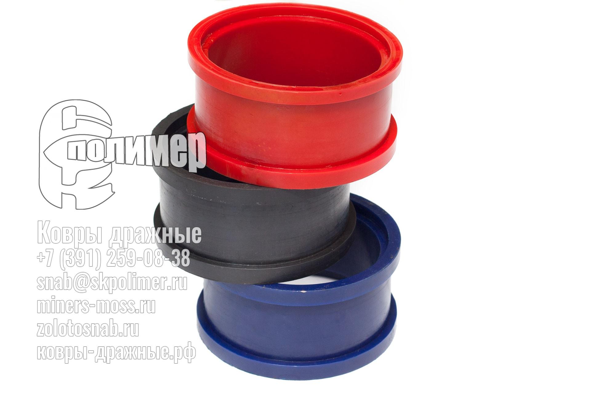 Детали полиуретановые и резиновые для DIAMEC