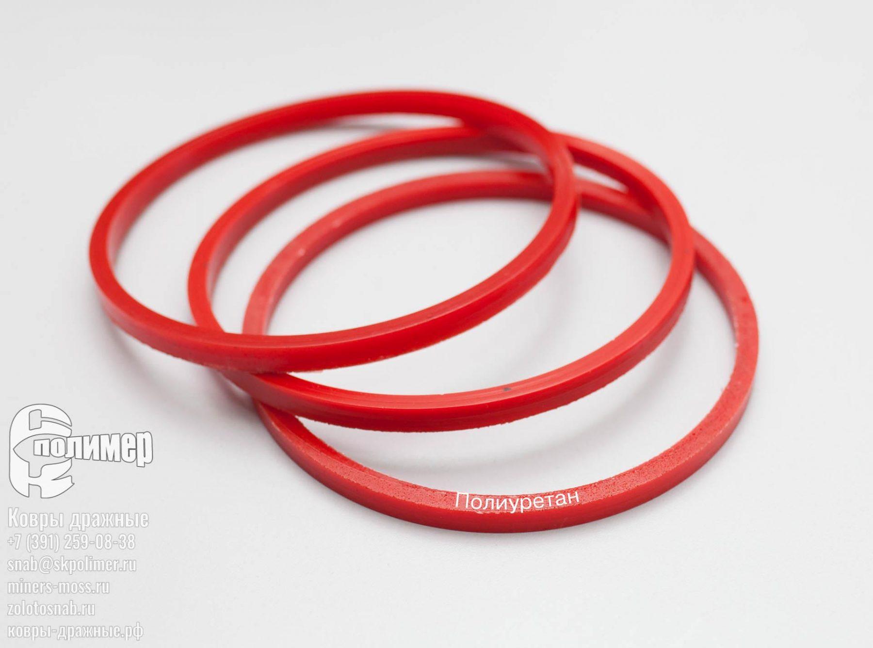 полиуретановое кольцо прямоугольного сечения diamec