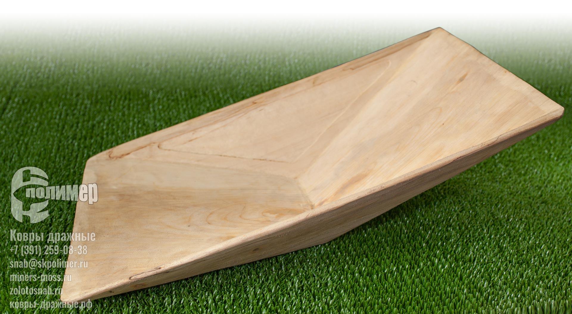 лоток деревянный старательский