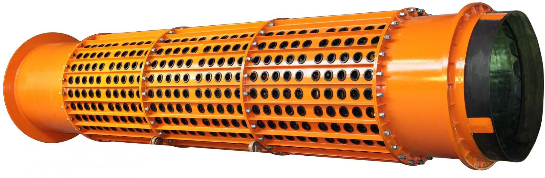 барабан бочка скруббер бутар