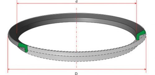 Кольцо (пыльник) резиновое 220-2-0-7