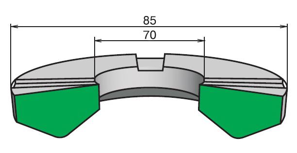 Кольца опорные (КО) ГОСТ 22704-77