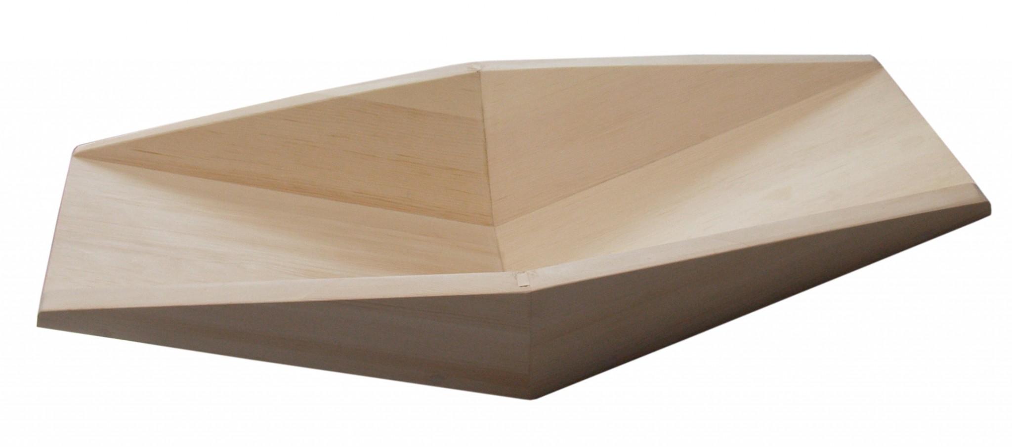 деревянный лоток старателя v-образный