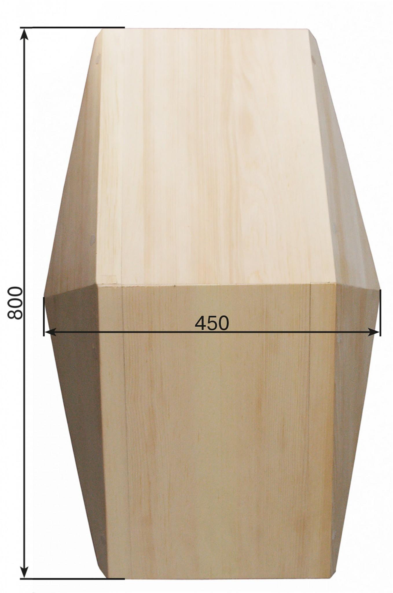 лоток из дерева длинна 800