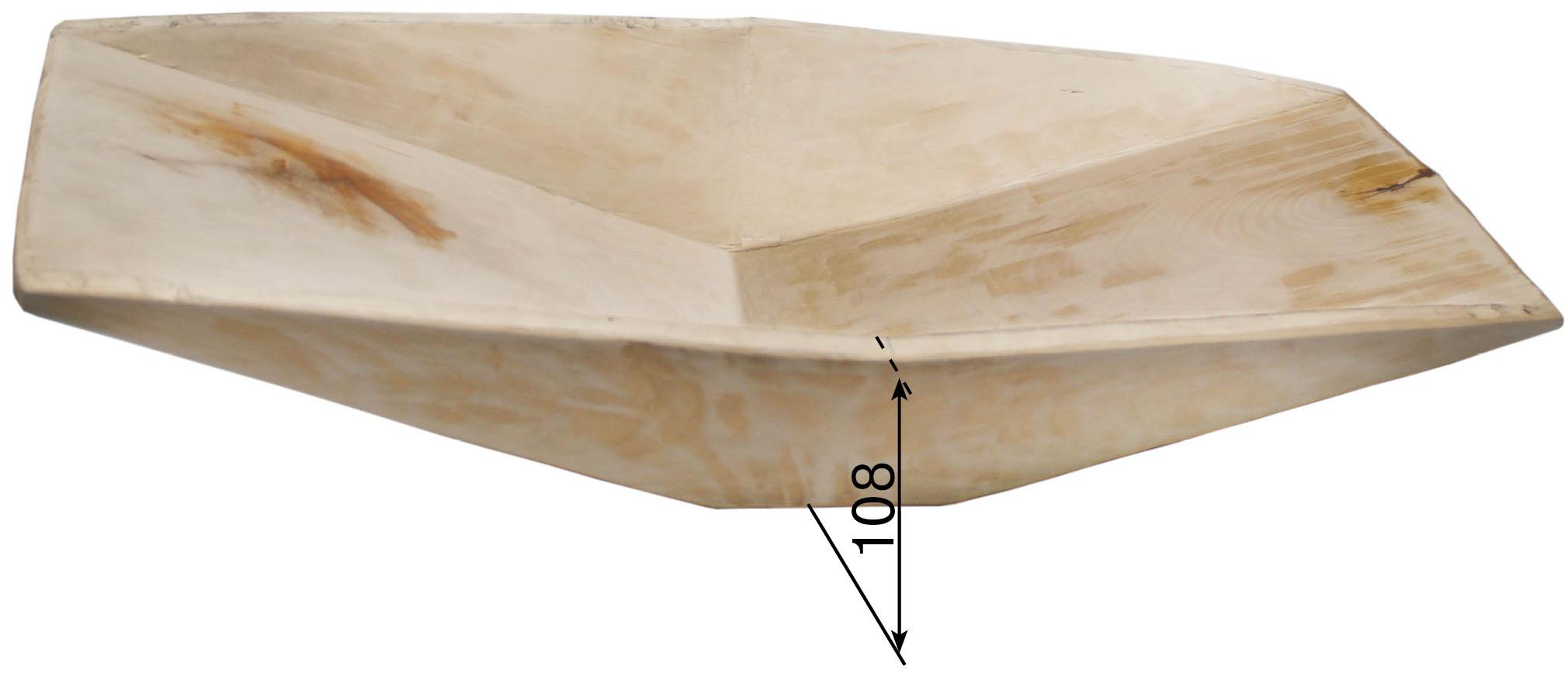 Лоток деревянный долблённый