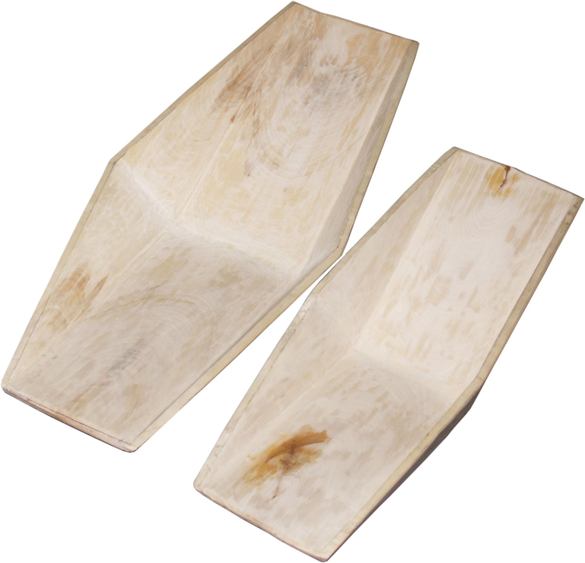 Деревянные лотки древесина осина
