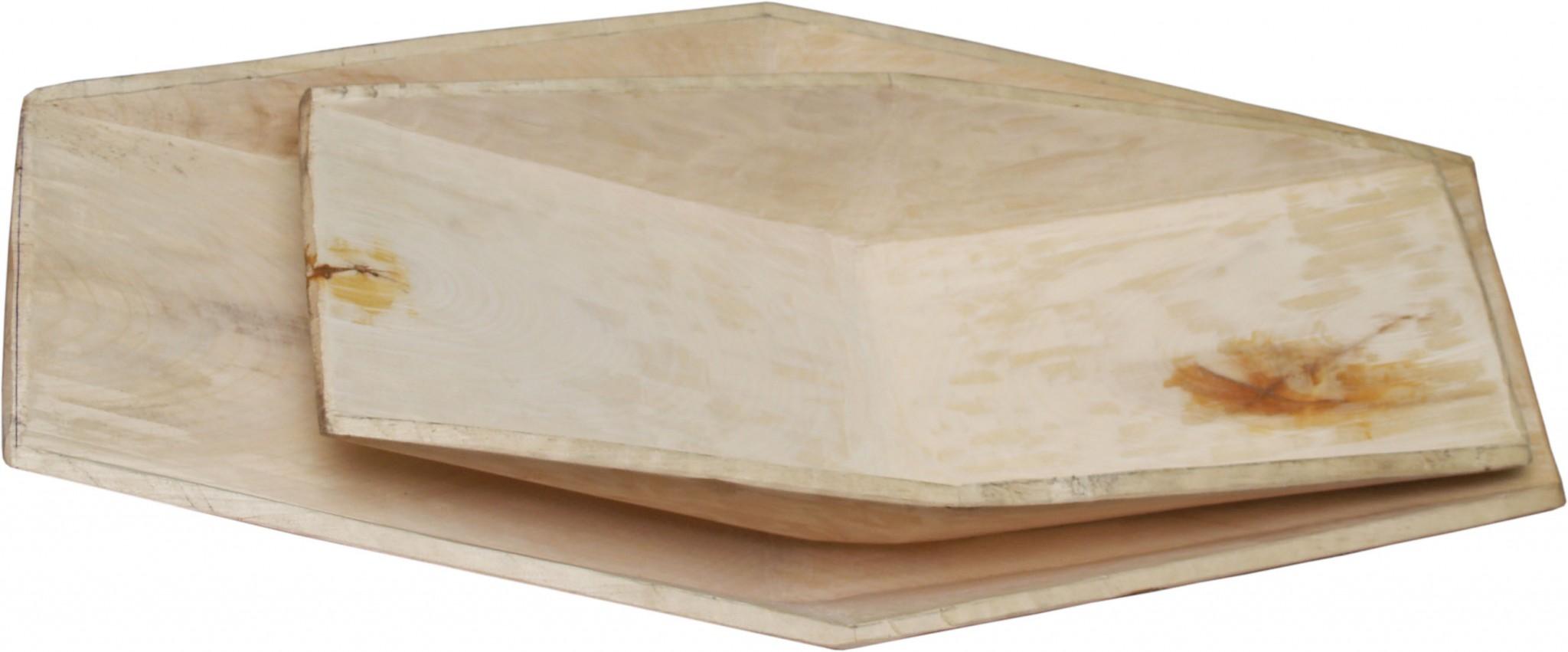 лотки деревянные большой и малый
