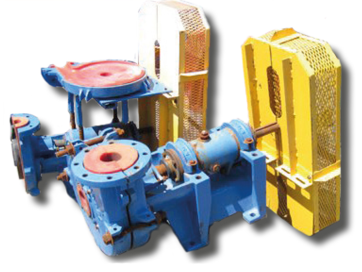 Насосы песковые пульповые горизонтальные AC 5x4x14 (3x3x10) SRL-C Goulds Pumps